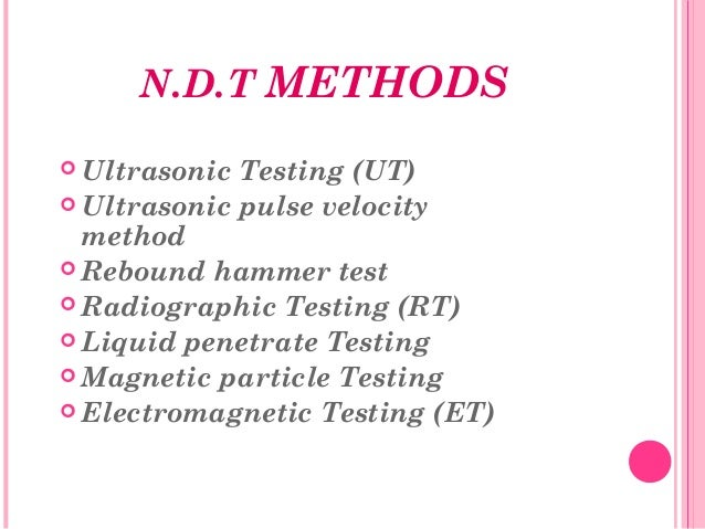 nondestructive testing of materials and structures epub