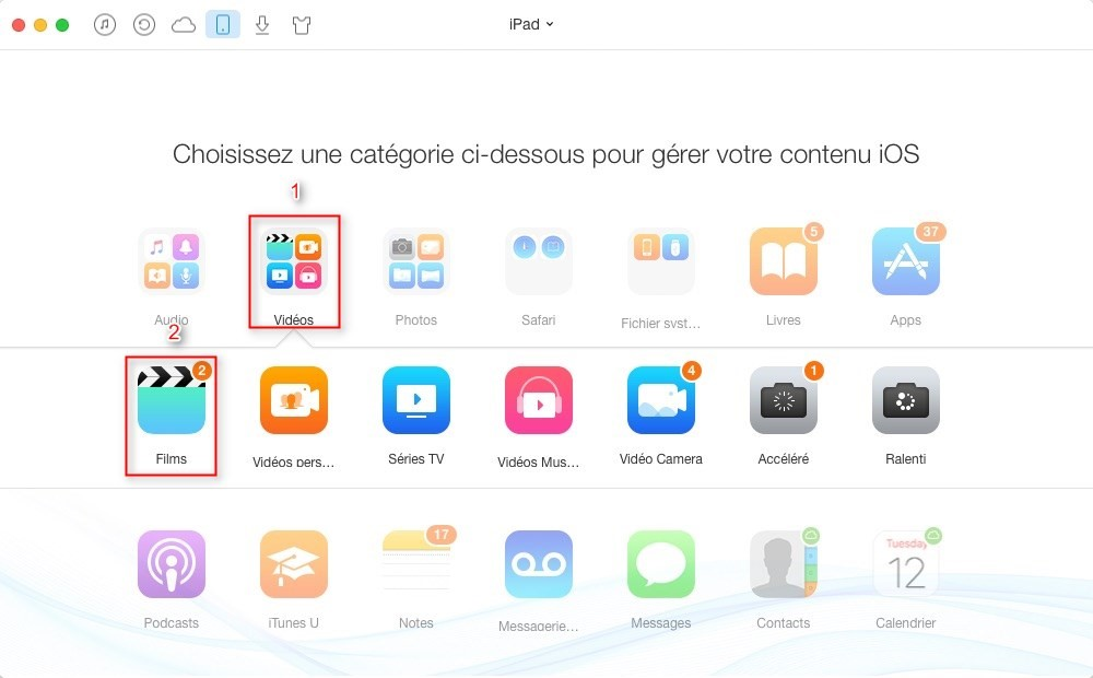 how to transfer epub books from imac to ipad