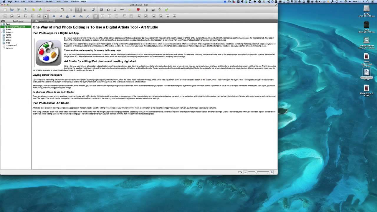 make an epub from word