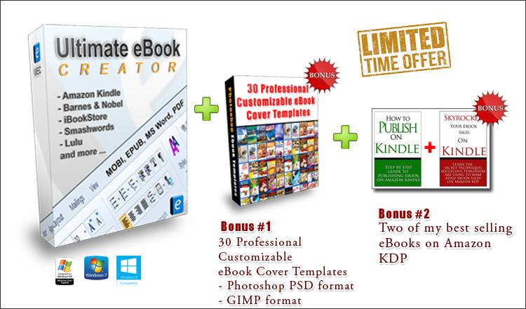 free ebook creator for kindle