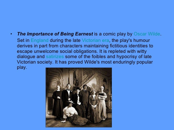 the importance of being earnest epub