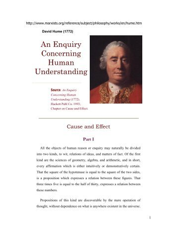 adelaide ebooks hume enquiry concerning human understanding