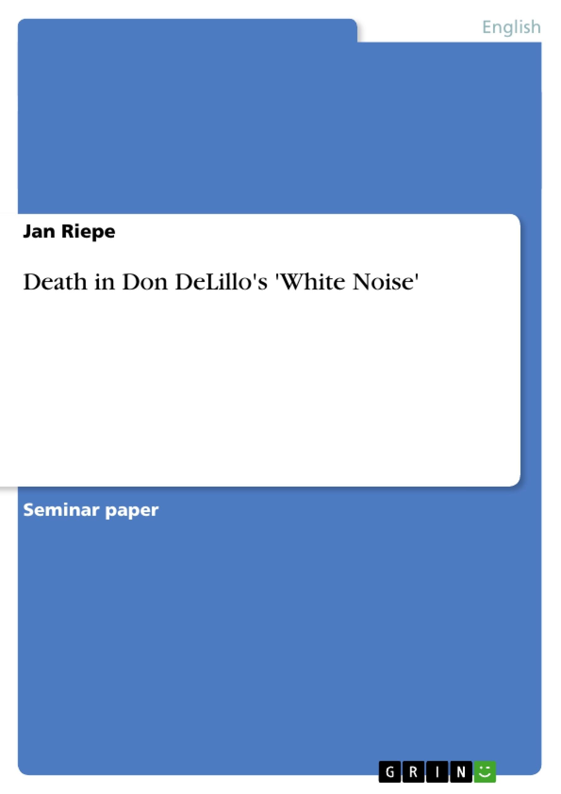 white noise don delillo epub
