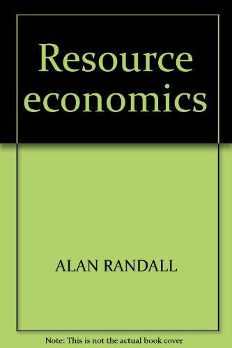 ebook natural resource economics an introdution