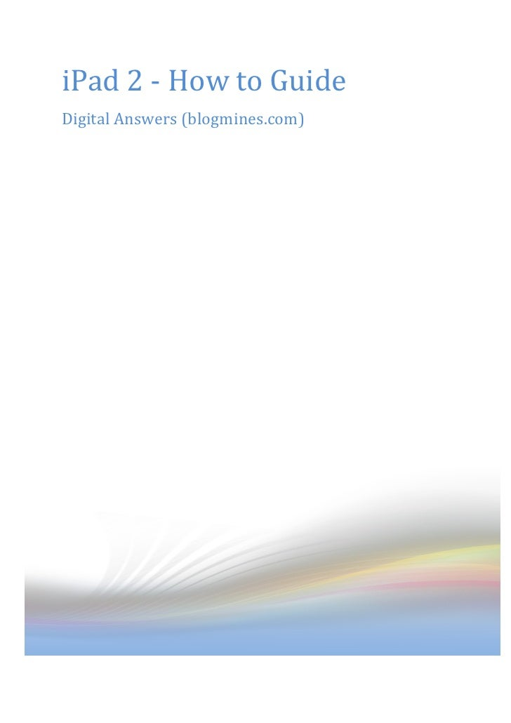 free ebooks for ipad 2 download