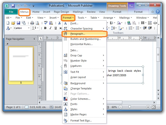 how to format spaces between words in epub