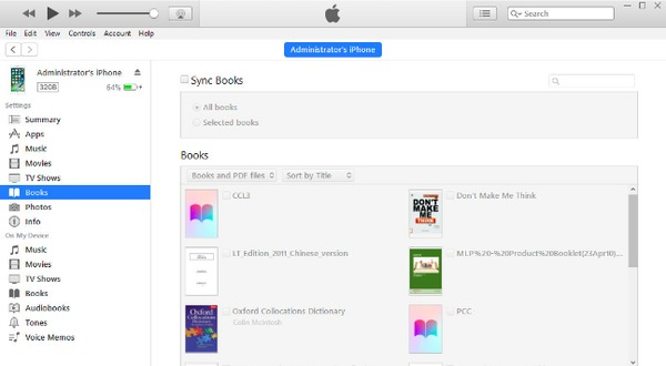 how to transfer epub to iphone