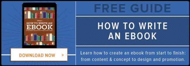 how to write an ebook hubspot