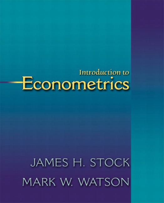 stock and watson econometrics ebook