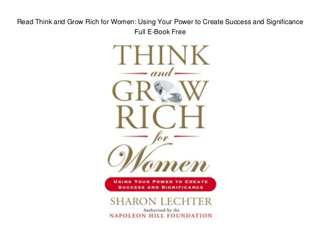 think and grow rich book epub